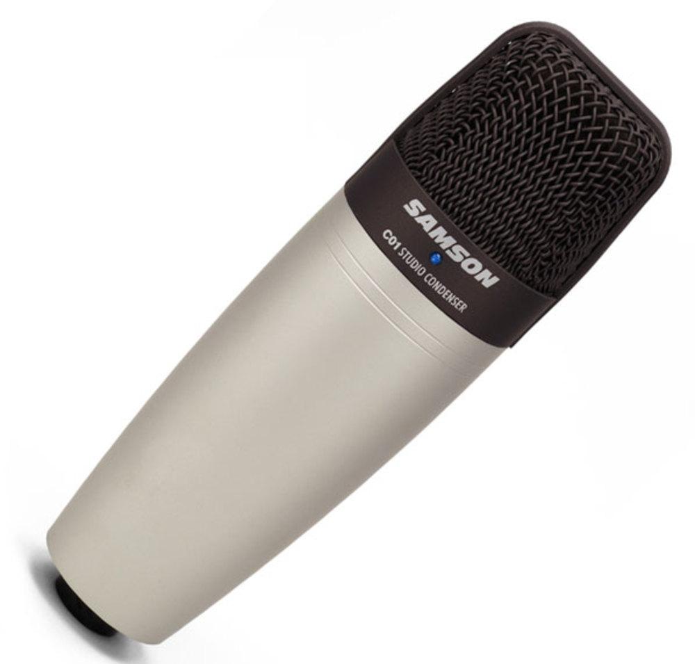 samson c01 large diaphragm studio condenser microphone whybuynew. Black Bedroom Furniture Sets. Home Design Ideas