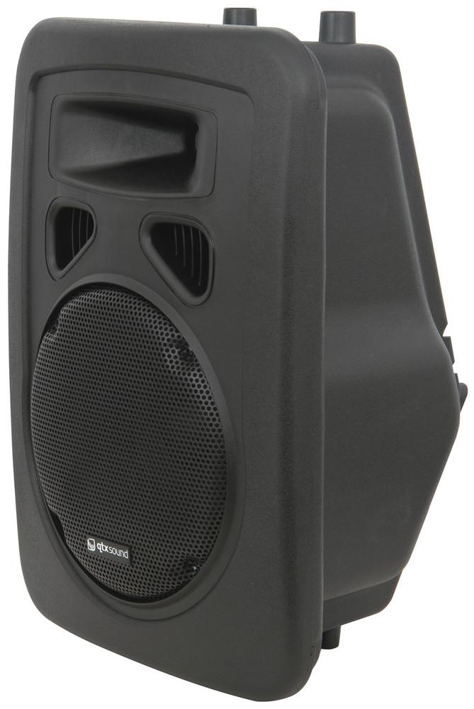 qtx sound paj10a active 400w speaker pa system whybuynew. Black Bedroom Furniture Sets. Home Design Ideas