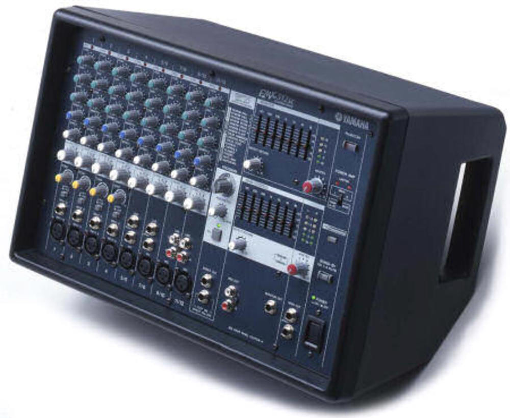 Yamaha emx312sc powered mixer amp 300w 12 input fx whybuynew for Yamaha emx 312sc
