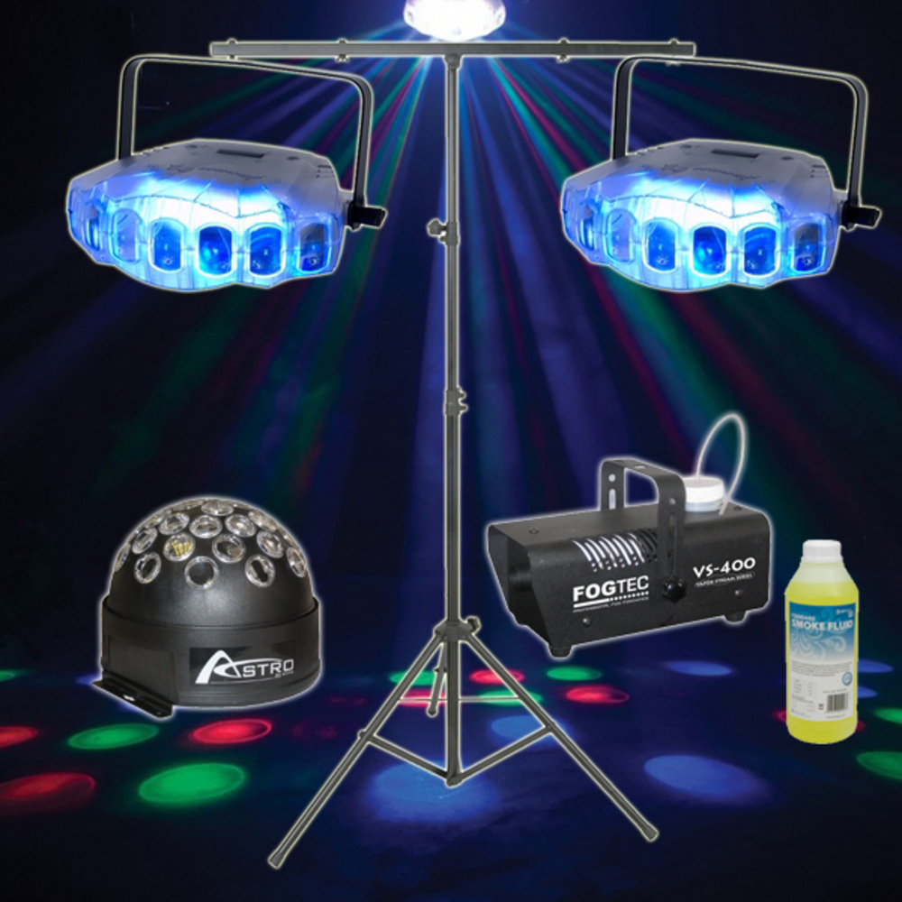 american dj jellyfish disco lighting package whybuynew. Black Bedroom Furniture Sets. Home Design Ideas