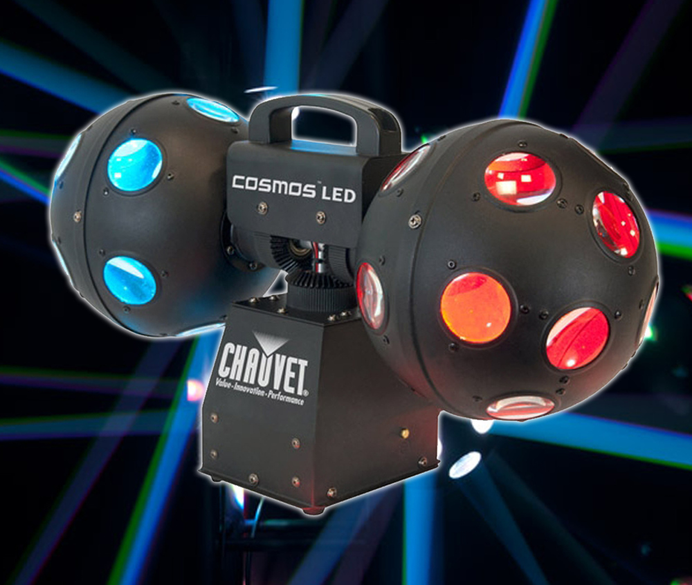 Chauvet Cosmos Led Rotating Dual Ball Effect Whybuynew Co Uk