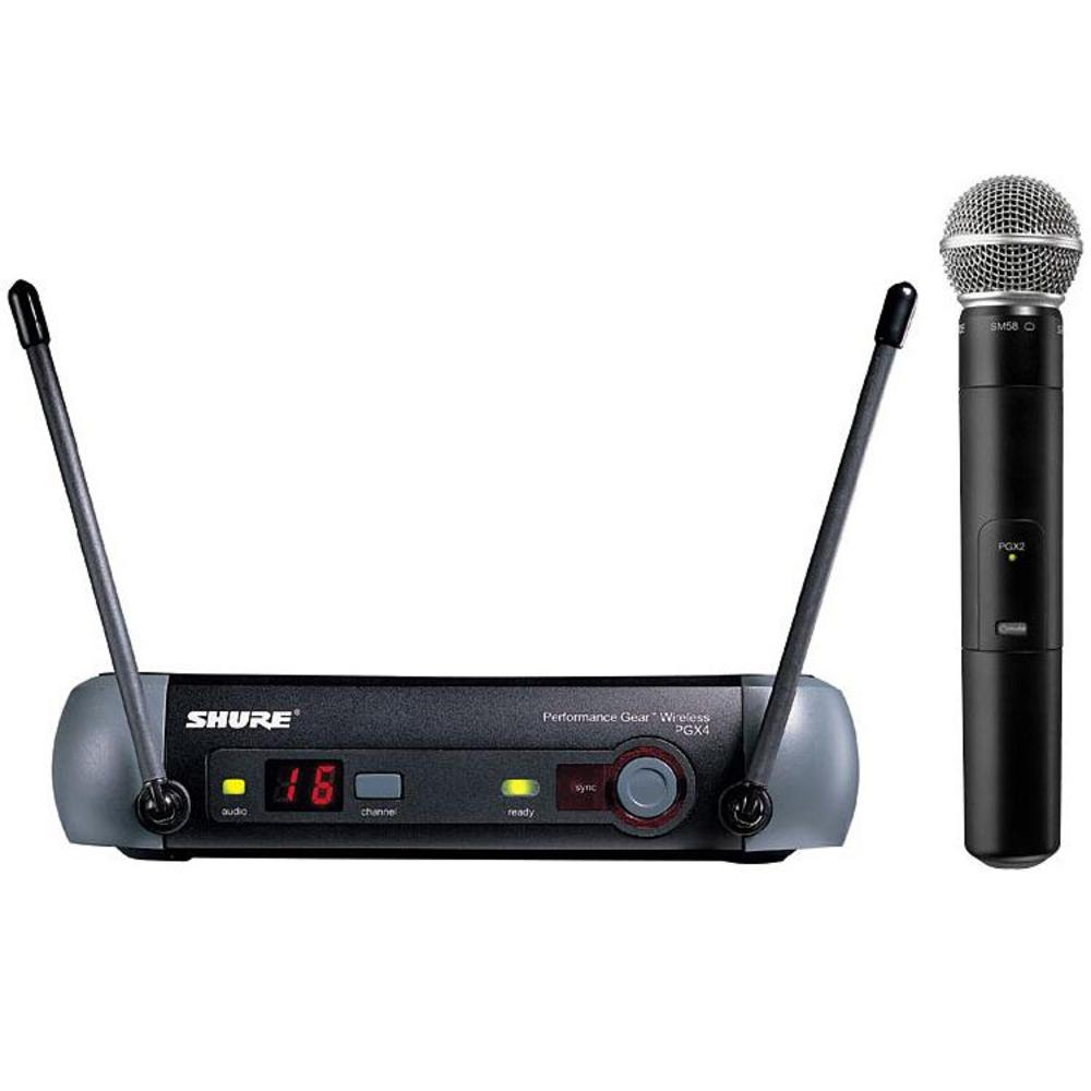 shure pgx24 sm58 wireless microphone system whybuynew. Black Bedroom Furniture Sets. Home Design Ideas