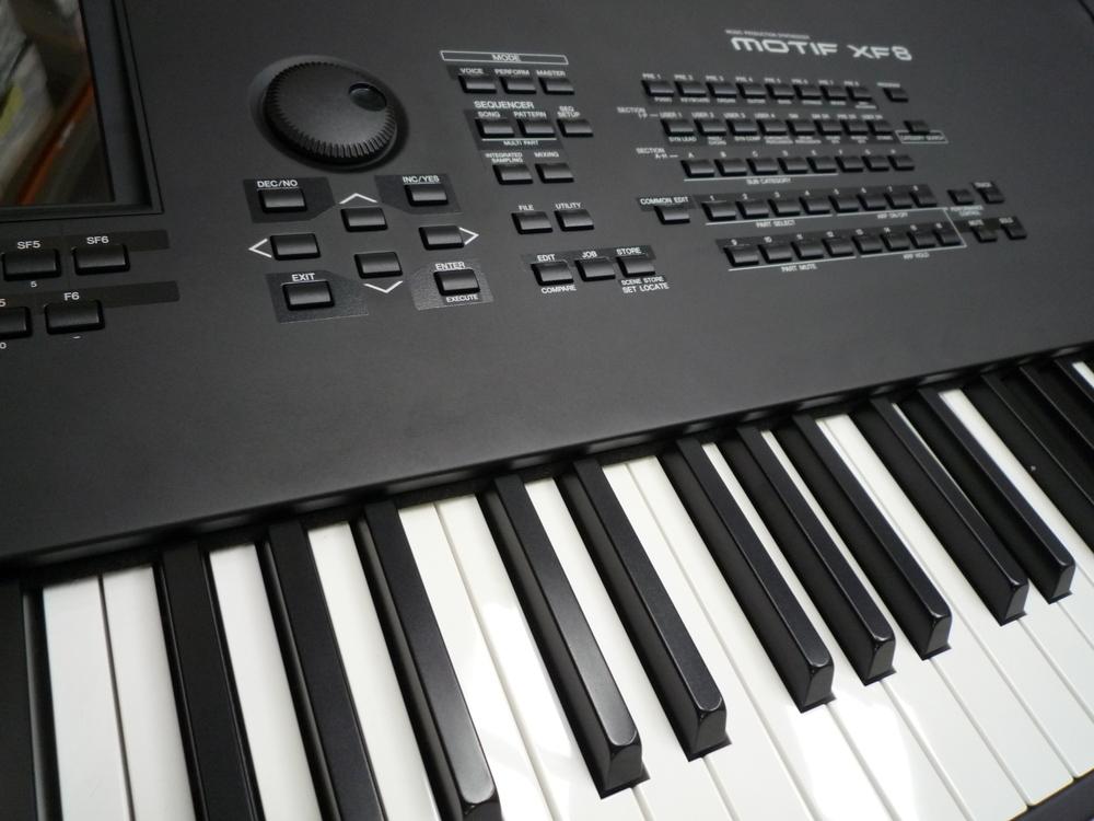 Yamaha motif xf8 keyboard synthesizer whybuynew for Yamaha motif keyboard