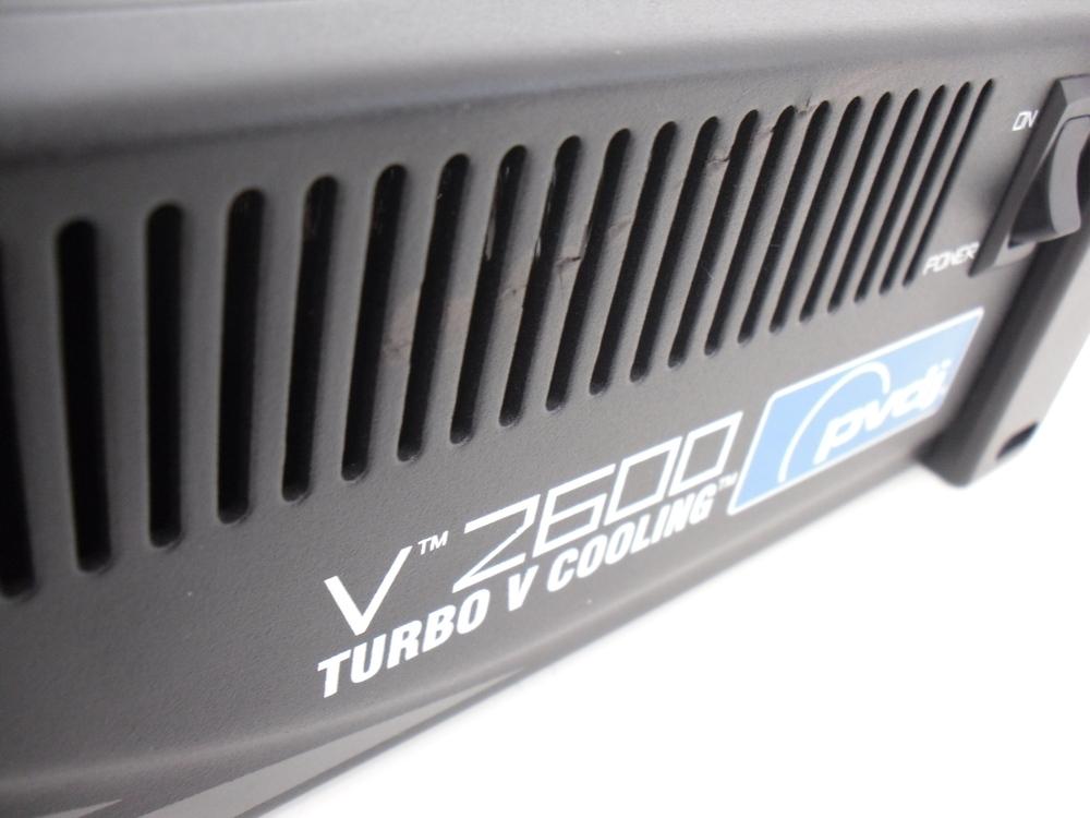 peavey pvdj turbo v 2600 pv2600 amplifier whybuynew. Black Bedroom Furniture Sets. Home Design Ideas