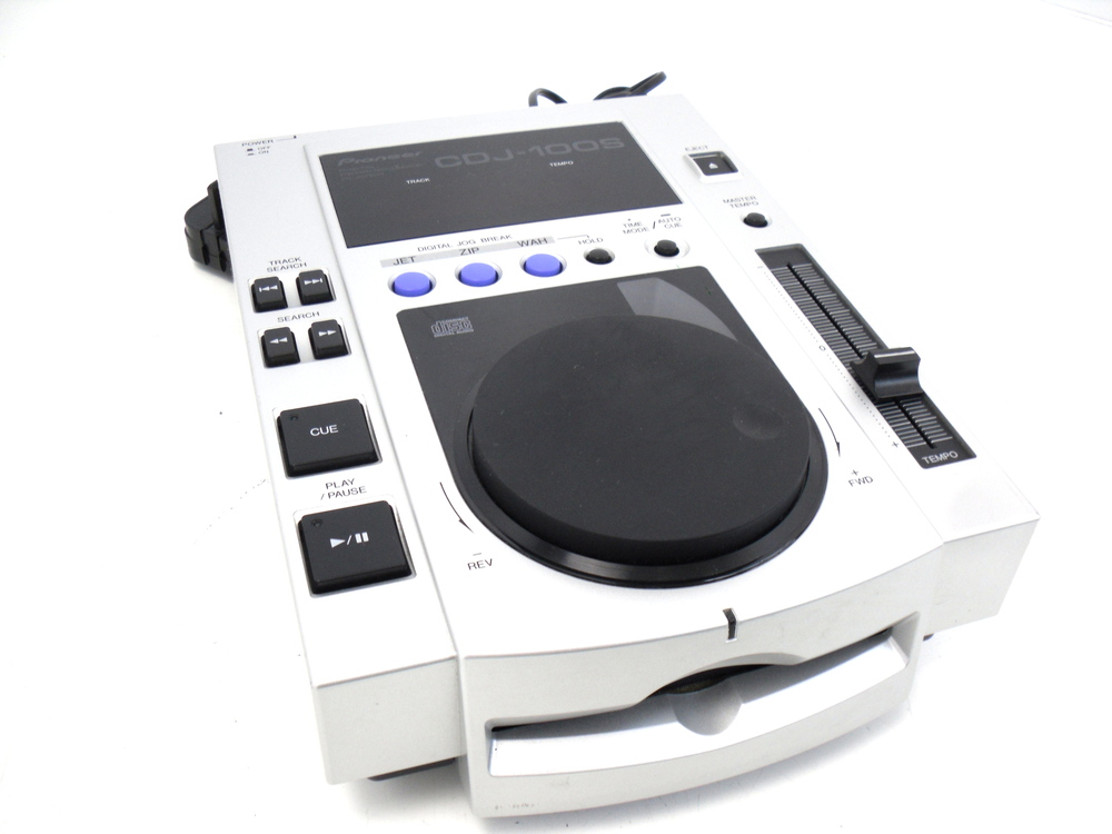 pioneer cdj100s dj cd player whybuynew. Black Bedroom Furniture Sets. Home Design Ideas