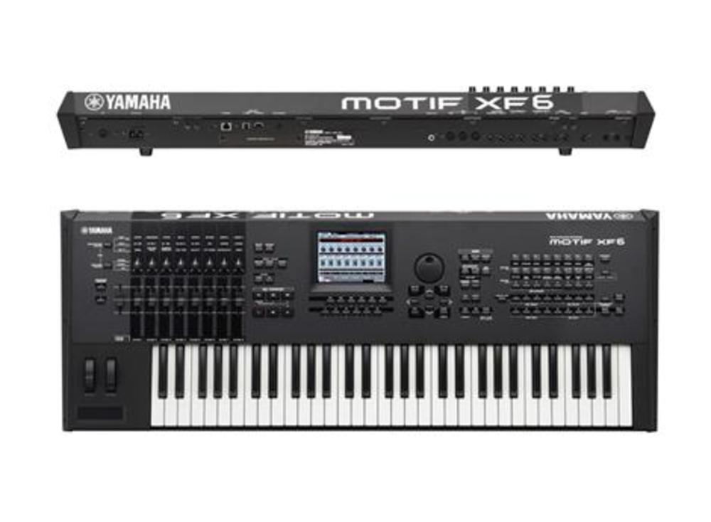 Yamaha motif xf6 61 note workstation keyboard synthesizer for Yamaha motif sounds download free