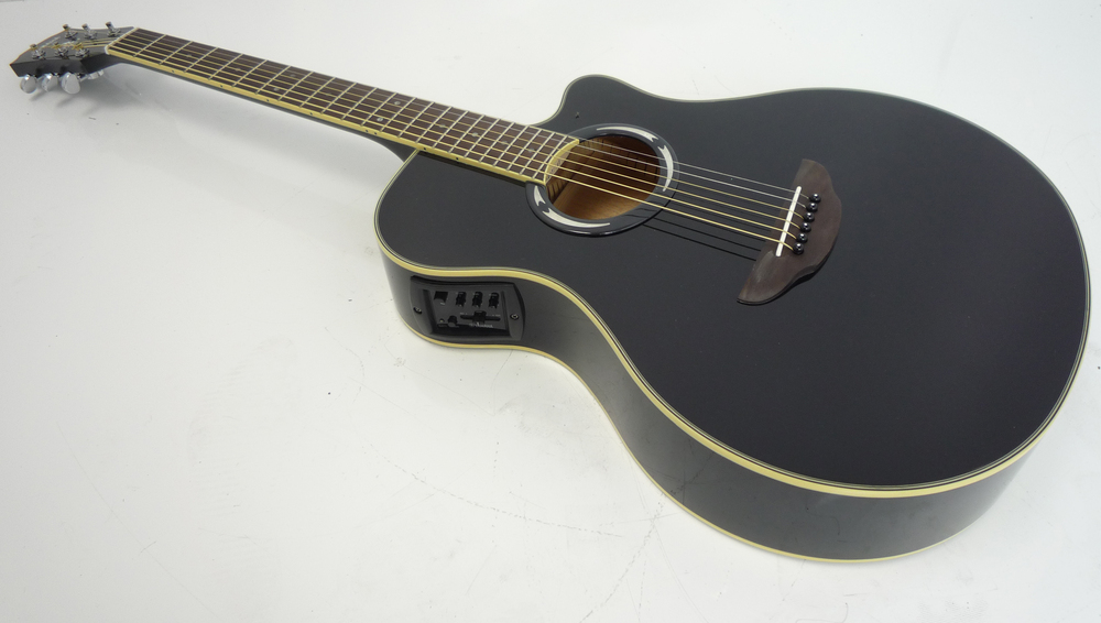 yamaha apx500 iii electro acoustic guitar black whybuynew. Black Bedroom Furniture Sets. Home Design Ideas