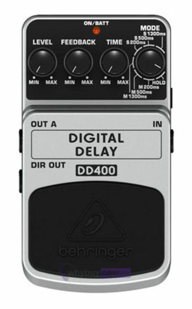 behringer dd400 digital delay guitar effects pedal whybuynew. Black Bedroom Furniture Sets. Home Design Ideas