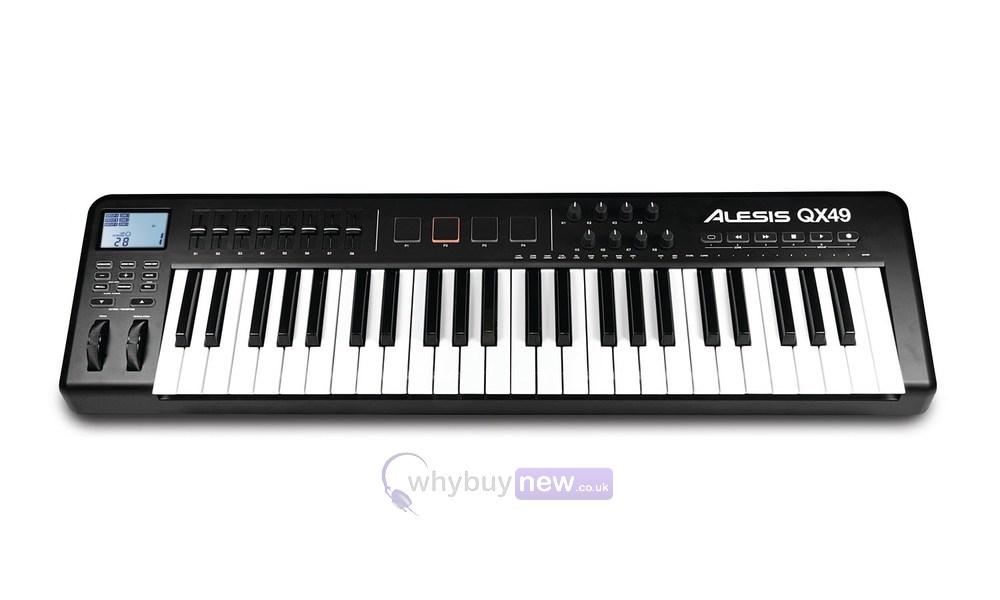 q49 49 key usb midi keyboard controller. Black Bedroom Furniture Sets. Home Design Ideas