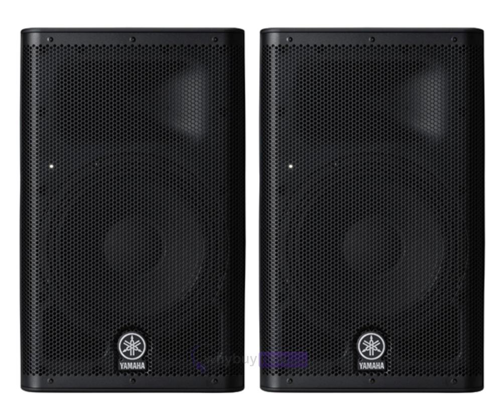 Yamaha dxr8 active powered pa speaker 1100 watt whybuynew for Yamaha powered speakers review