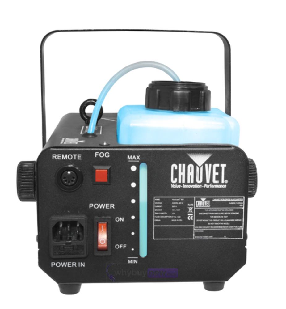 chauvet smoke machine