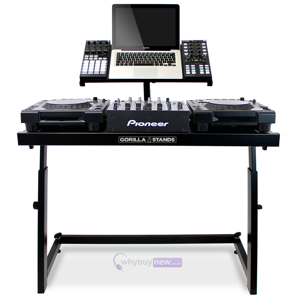 gorilla ds 1 dj deck stand. Black Bedroom Furniture Sets. Home Design Ideas