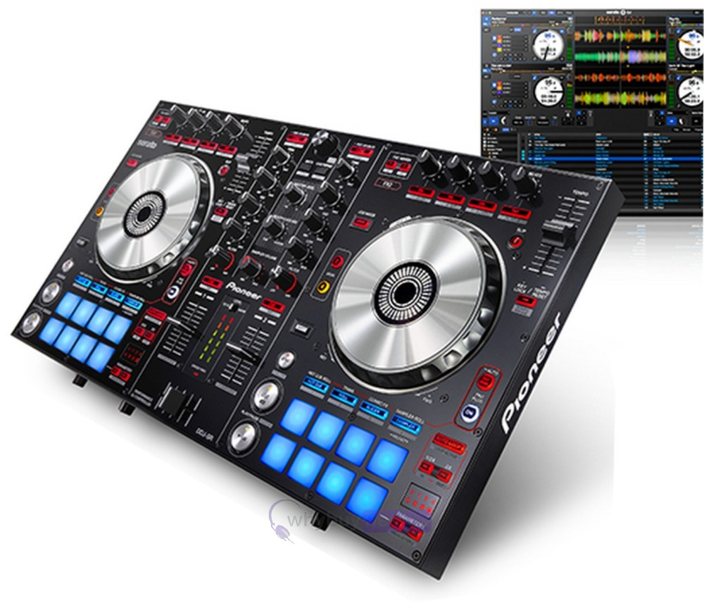 PIONEER SERATO USB DIGITAL DJ CONTROLLER MODEL # DDJ-SR
