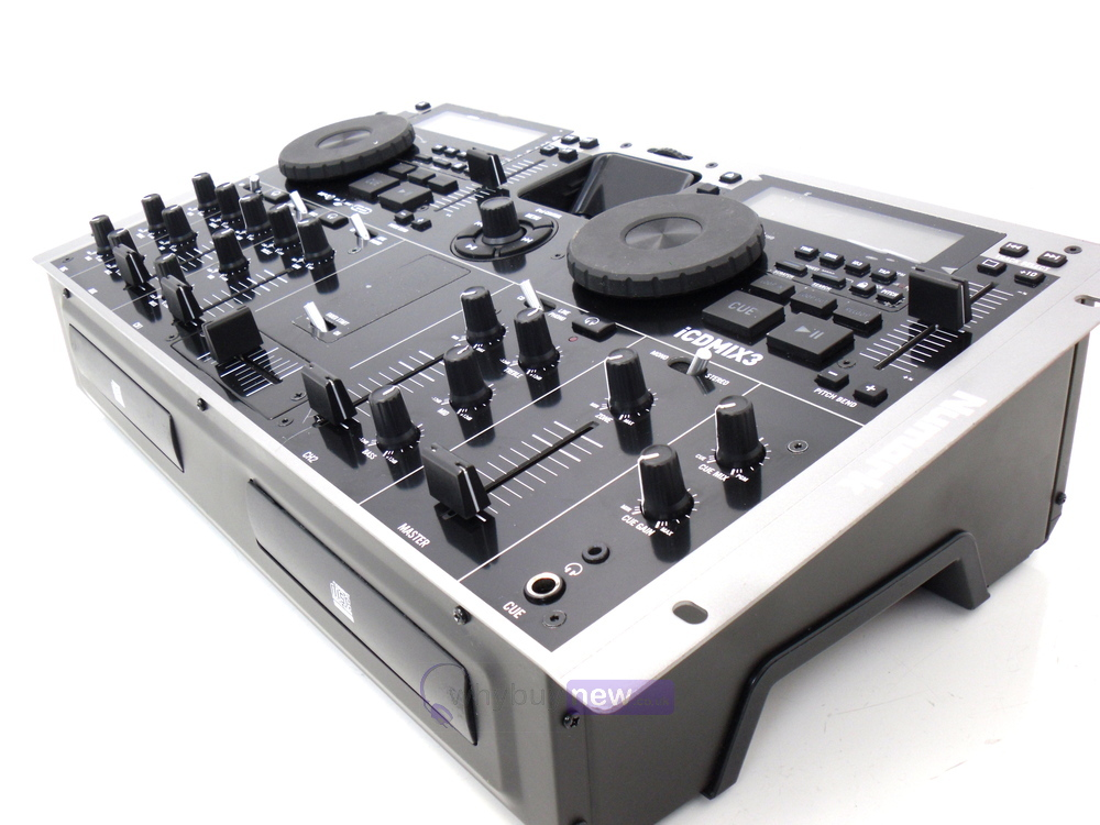 numark icdmix3 dj mixing console whybuynew. Black Bedroom Furniture Sets. Home Design Ideas