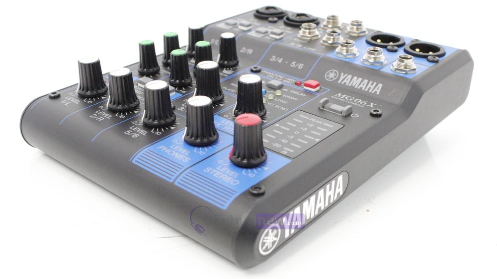yamaha mg06x mixing console whybuynew