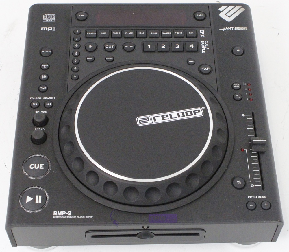 reloop rmp 2 professional tabletop cd mp3 player whybuynew. Black Bedroom Furniture Sets. Home Design Ideas