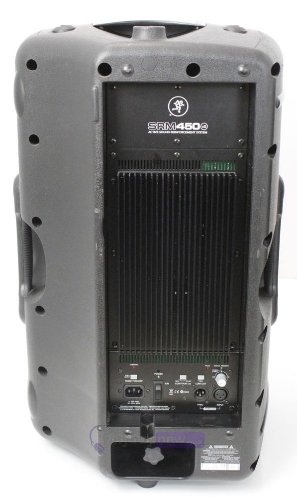 mackie srm450 v2 active speakers black pair whybuynew. Black Bedroom Furniture Sets. Home Design Ideas