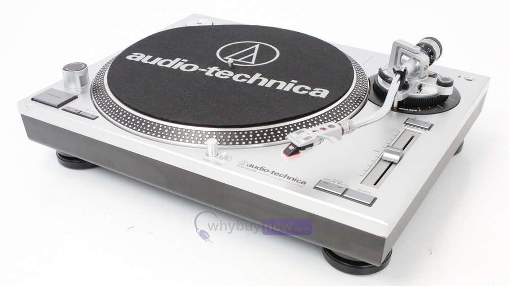 how to use audio technica turntable