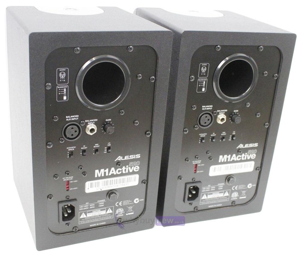 Alesis M1 Active 520 : alesis m1 520 active studio monitors pair whybuynew ~ Hamham.info Haus und Dekorationen