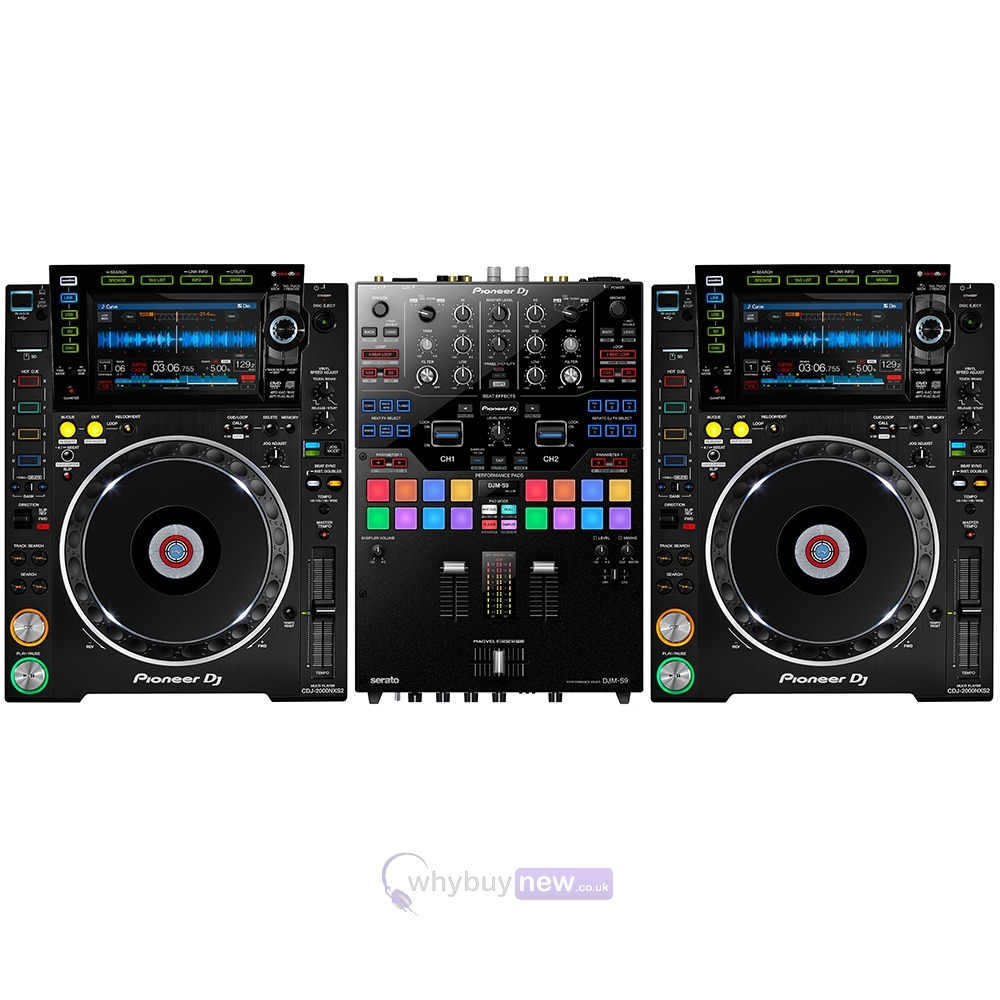 pioneer cdj 2000 nxs2 pioneer djm s9 whybuynew. Black Bedroom Furniture Sets. Home Design Ideas