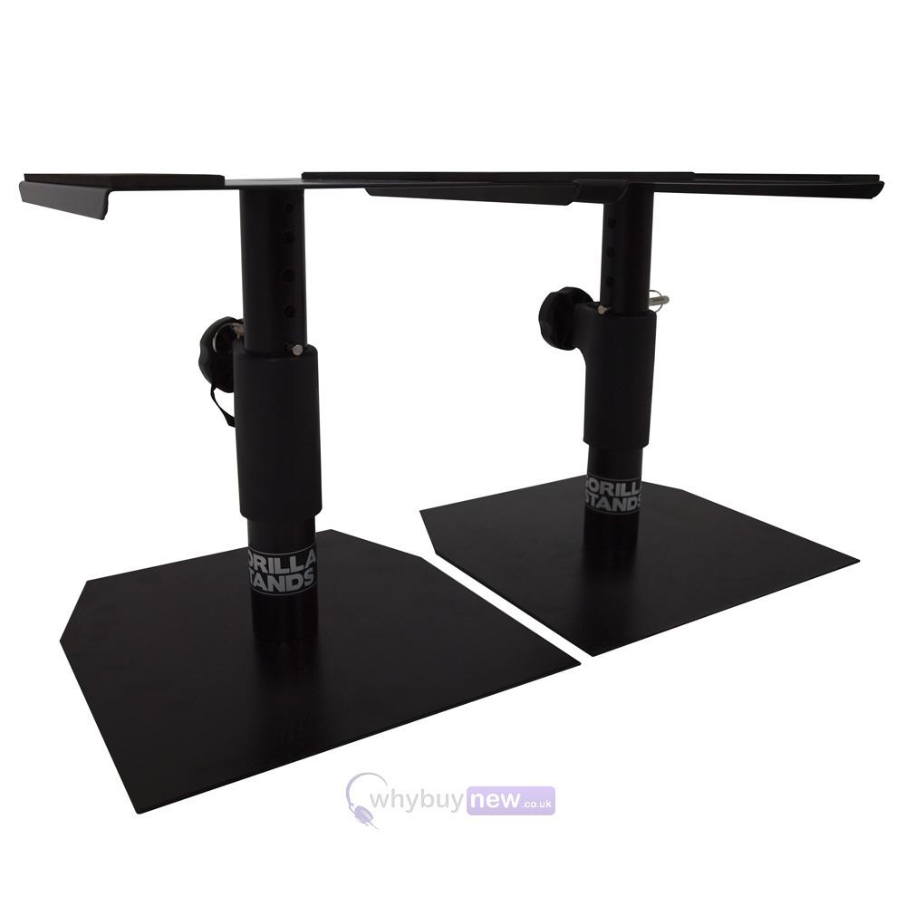 Pair Gorilla Gsm50 Desktop Studio Monitor Stands  Whybuynew. Fluorescent Desk Lamps Sale. Fold Away Computer Desk. Table Saw Rental Lowes. Allegis Group Help Desk