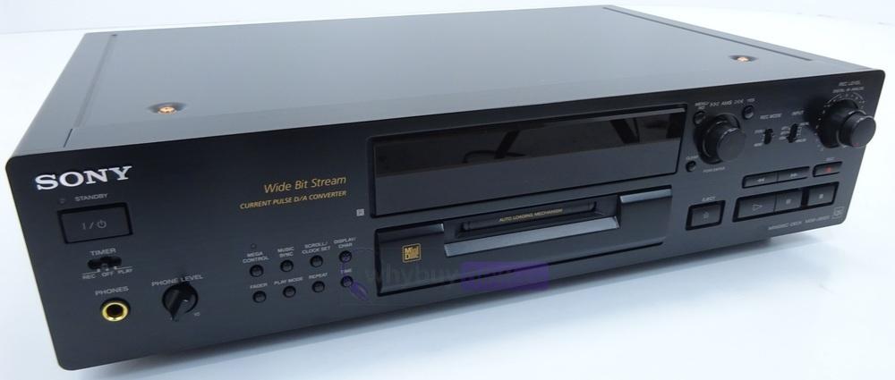 sony mds jb920 minidisc recorder deck whybuynew. Black Bedroom Furniture Sets. Home Design Ideas