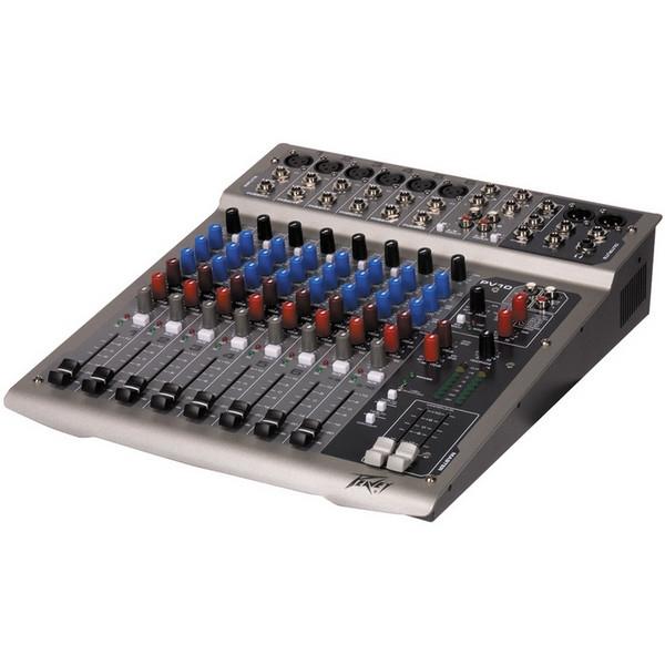Peavey PV10 PA Mixer Compact 10 Channel DJ Studio Mixing Desk PV 10