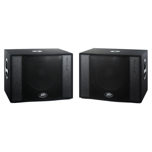Ex Display Peavey Pro Sub MK2 Subwoofers 15