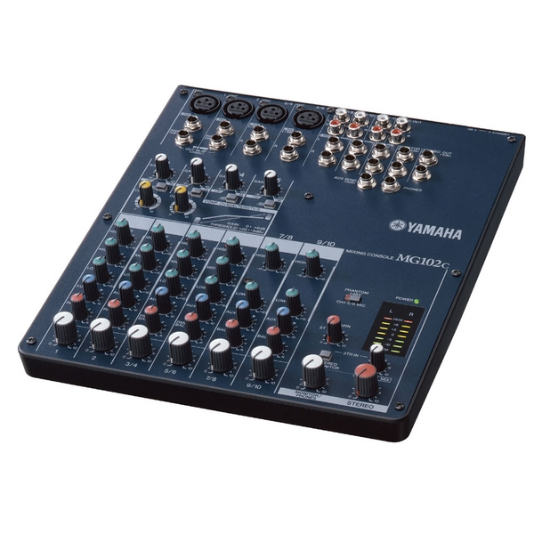 B stock yamaha mg102c analogue live sound mixer mixing for Yamaha sound console