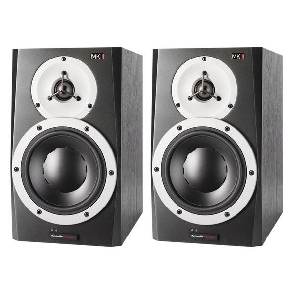 pair dynaudio bm5a mkii active studio monitor speaker powered ebay. Black Bedroom Furniture Sets. Home Design Ideas