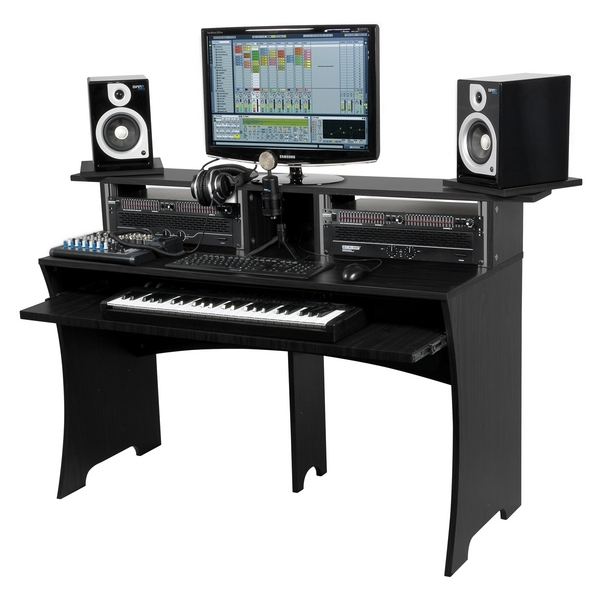 Brand New Glorious Studio Workbench Black Studio Deck Workstation Stand