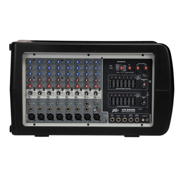 Brand New Peavey XR 8600 Powered 8 Channel Mixer Amplifier Amp