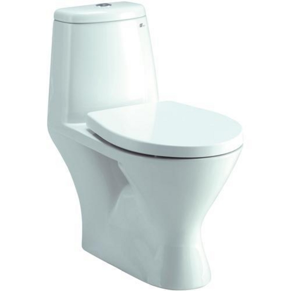wickes one peice eco toilet wc modern design water saving. Black Bedroom Furniture Sets. Home Design Ideas