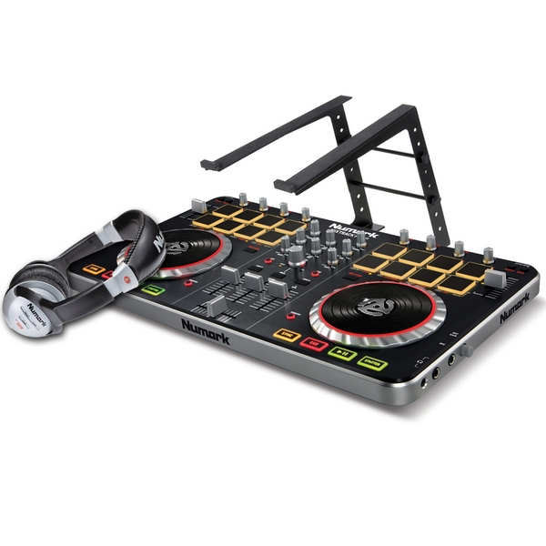 Numark Mixtrack Pro 2 Bundle With Gorilla Laptop Stand