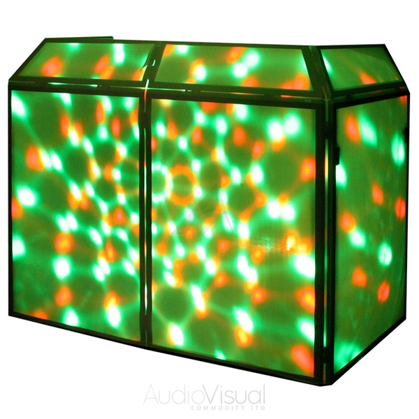 booth system mobile dj disco party stand foldable light screen ebay