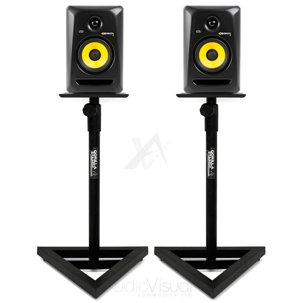 Gorilla Gsm 100 Heavy Duty Steel Studio Dj Monitor Speaker