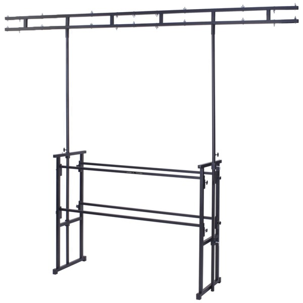 Jumeau de gorille barre d 39 clairage 1 2m stand disco dj for Eclairage stand