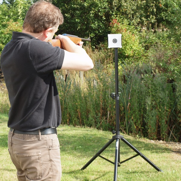 GORILLA SHOOTING TARGET STAND HOLDER AIR RIFLE PELLET