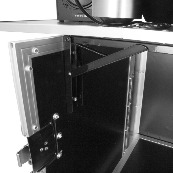 Gorilla Djs Foldable Flight Case Dj Disco Deck Stand Booth