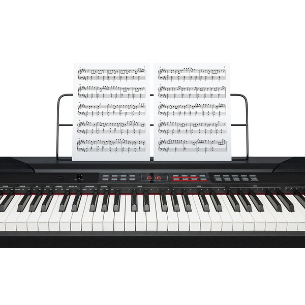 alesis coda pro full sized 88 key digital piano keyboard with hammer action keys ebay. Black Bedroom Furniture Sets. Home Design Ideas