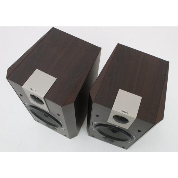 focal chorus 705v lautsprecher v form b cherregal haus audio dunkles holz ebay. Black Bedroom Furniture Sets. Home Design Ideas