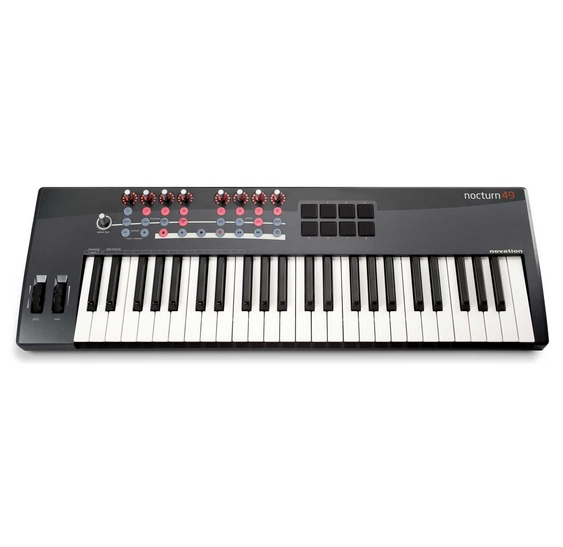 Novation NOCTURN 49 Keyboard / USB Midi Controller