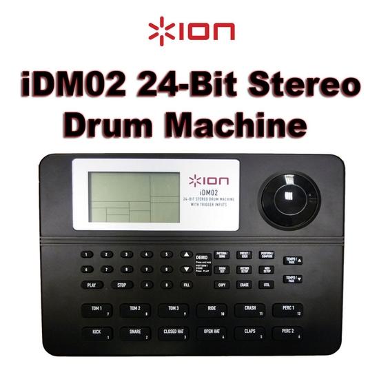 ion idm02 24 bit stereo drum machine with trigger inputs