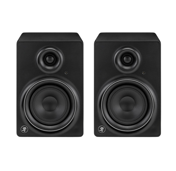 new mackie mr5 mk2 active studio monitor speakers pair. Black Bedroom Furniture Sets. Home Design Ideas