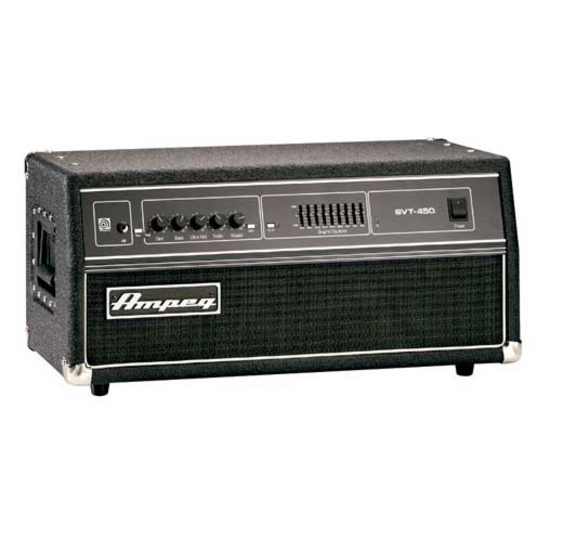 ampeg svt 450h bass guitar amplifier amp head svt450h ebay. Black Bedroom Furniture Sets. Home Design Ideas