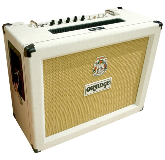 orange ad30tc valve guitar amplifier amp combo white ebay. Black Bedroom Furniture Sets. Home Design Ideas