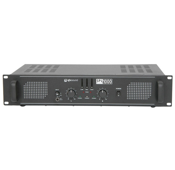 QTX SPL 1000 Amplifier with EQ SPL1000