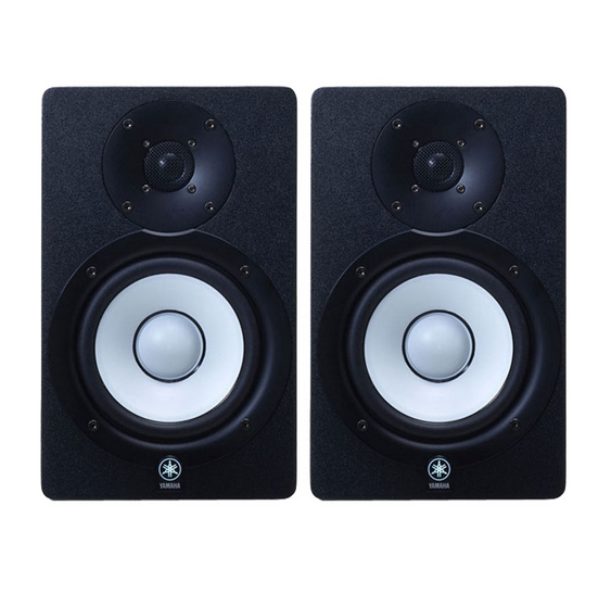 B stock yamaha hs50m powered pa monitors speakers pair for Yamaha powered monitor speakers