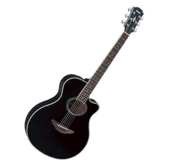 B stock yamaha apx700 bl electro acoustic guitar apx 700 black for Yamaha acoustic guitar ebay