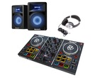 Numark Party Mix With N-Wave 580L Speakers & HF125 Package
